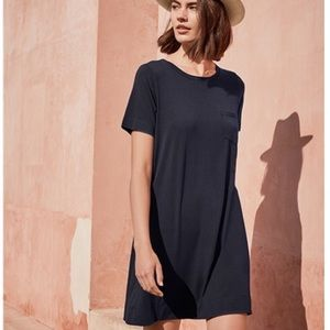 Black Cuyana T Shirt Dress